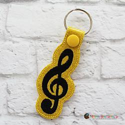 Key Fob - Treble Clef