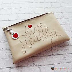 ITH - Live Healthy Bag and Apple Bag Tag