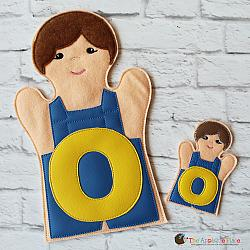 Puppet - O for Overalls - Long O