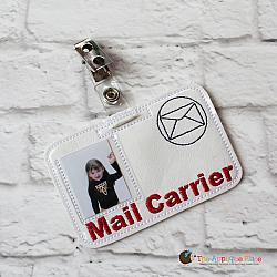 ITH - Mail Carrier Badge ID Tag