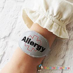 ITH - Medical Alert Bracelet/Double Key Fob - Allergy