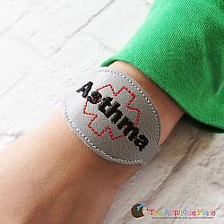 ITH - Medical Alert Bracelet/Double Key Fob - Asthma