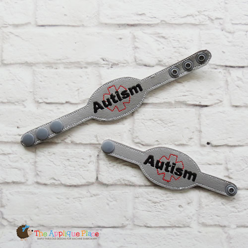 ITH - Medical Alert Bracelet/Double Key Fob - Autism