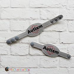 ITH - Medical Alert Bracelet/Double Key Fob - Autism