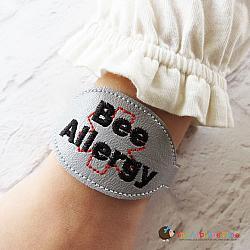 ITH - Medical Alert Bracelet/Double Key Fob - Bee Allergy