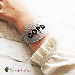 ITH - Medical Alert Bracelet/Double Key Fob - COPD