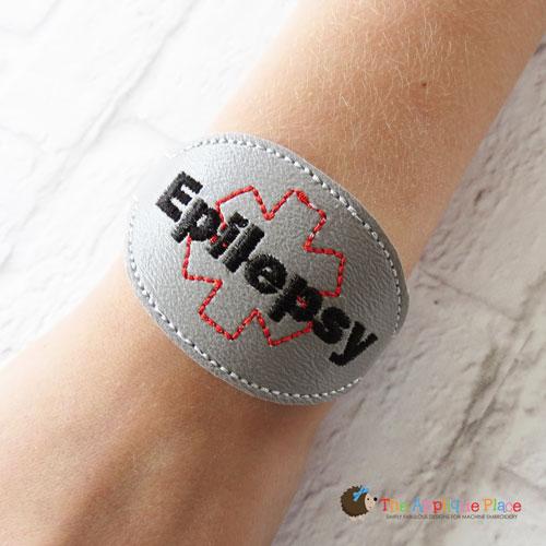 ITH - Medical Alert Bracelet/Double Key Fob - Epilepsy