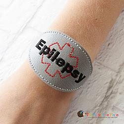 ITH - Medical Alert Bracelet/Double Key Fob - Epilepsy
