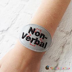 ITH - Medical Alert Bracelet/Double Key Fob - Non-Verbal