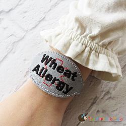 ITH - Medical Alert Bracelet/Double Key Fob - Wheat Allergy