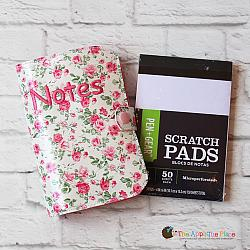 Notebook Case - Memo Book Cover - Top Loading 4x6