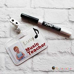 ITH - Music Teacher Badge