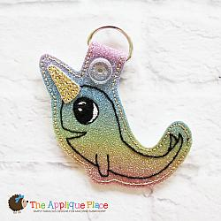 Key Fob - Narwhal