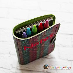 Notebook Case - Double Pocket - 6x10