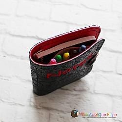 Notebook Case - Side and Top Pocket - 6x10