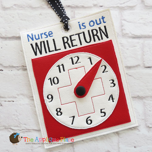 ITH - Nurse Will Return Sign