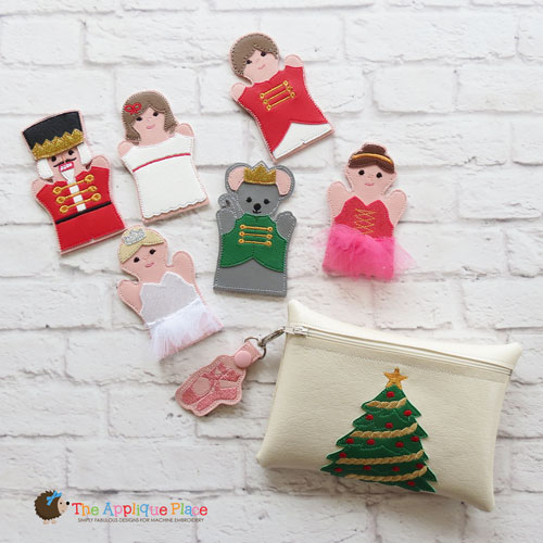 Puppet Set - Nutcracker (FINGER Puppets ONLY)