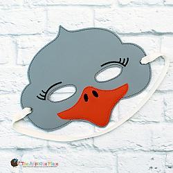 Mask - Ostrich