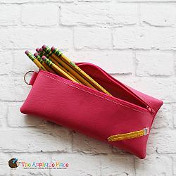 In the Hoop Pencil Bag