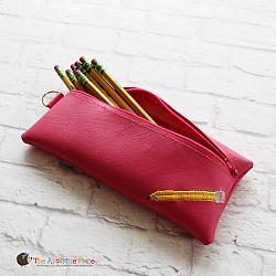 In the Hoop Pencil Bag