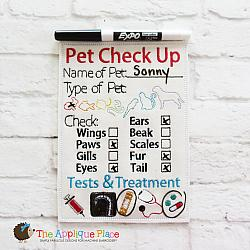 ITH - Pet Check Up Form