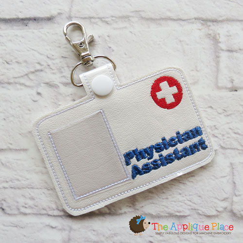 ITH - Physician Assistant Badge ID Tag