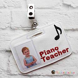 ITH - Piano Teacher Badge