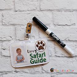 ITH - Safari Guide Badge ID Tag