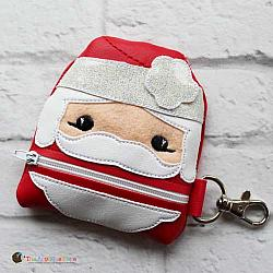 In the Hoop Santa Coin Purse