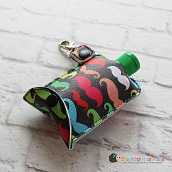 Key Fob - 3 Oz Hand Sanitizer Case (Snap Tab)