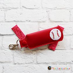 Key Fob - Gum Case - Version 1 - Baseball (Snap Tab)