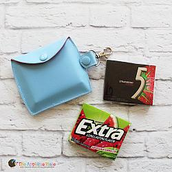 Key Fob - Gum Case - Version 2 - Baseball (Snap Tab)