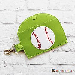 Key Fob - Gum Case - Version 3 - Baseball (Snap Tab)