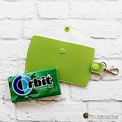 Key Fob - Gum Case - Version 3 - Baseball (Snap Tab)