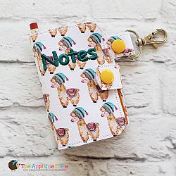 Key Fob - Notebook Case (5x7) (Snap Tab)