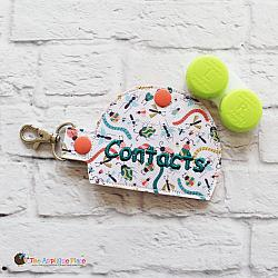 Key Fob - Contacts Case (Snap Tab)