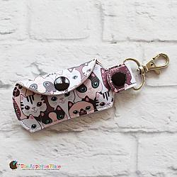 Key Fob - Flash Drive Case (Snap Tab)