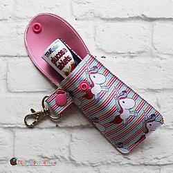 Key Fob - Glucose Tablet Case (Snap Tab)