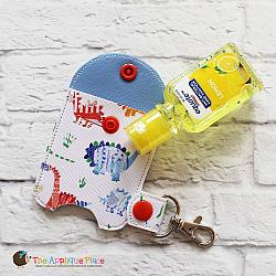 Key Fob - 1 Oz Hand Sanitizer Case (Snap Tab)