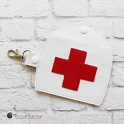 Key Fob - First Aid Case (Snap Tab)