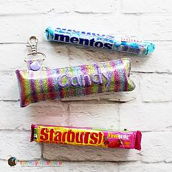 Key Fob - Long Candy Case (Snap Tab)