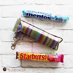 Key Fob - Long Candy Case (Snap Tab)