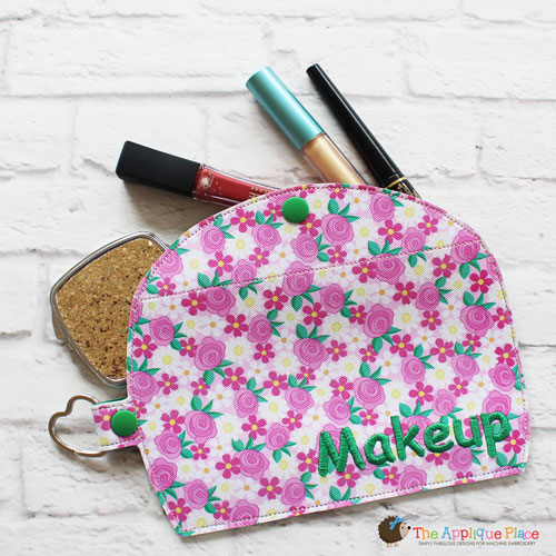 Key Fob - Makeup Case (Snap Tab)