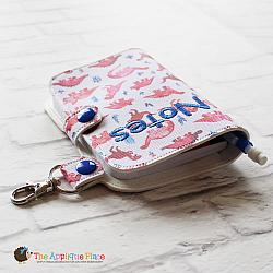 Key Fob - Notebook Case - Mini Composition (Snap Tab)