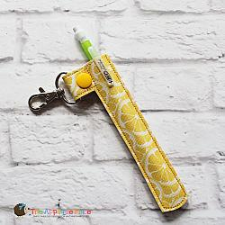 Key Fob - Pen Sleeve (Snap Tab)