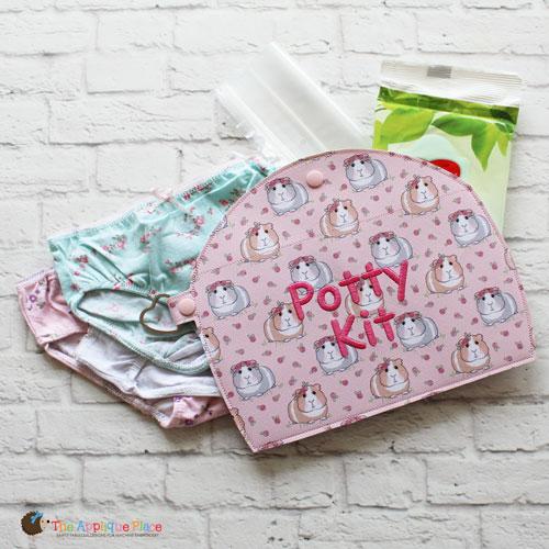 Key Fob - Potty Kit Case (Snap Tab)