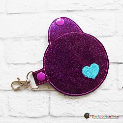 Key Fob - Round Mint Case (Snap Tab)