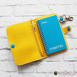 Key Fob - Notebook Case - Side Spiral (Snap Tab)