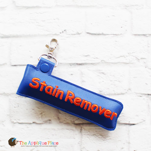 Key Fob - Stain Remover Case (Snap Tab)