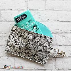 Key Fob - Tissue Case (Snap Tab)